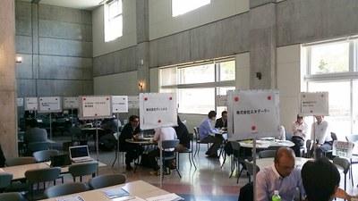 会津大学の合同企業説明会に参加しました。
