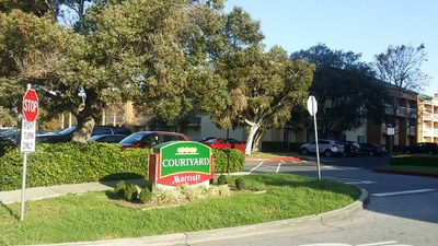 米国出張時の定宿になるか、Courtyard by Marriott by San Mateo Foster City