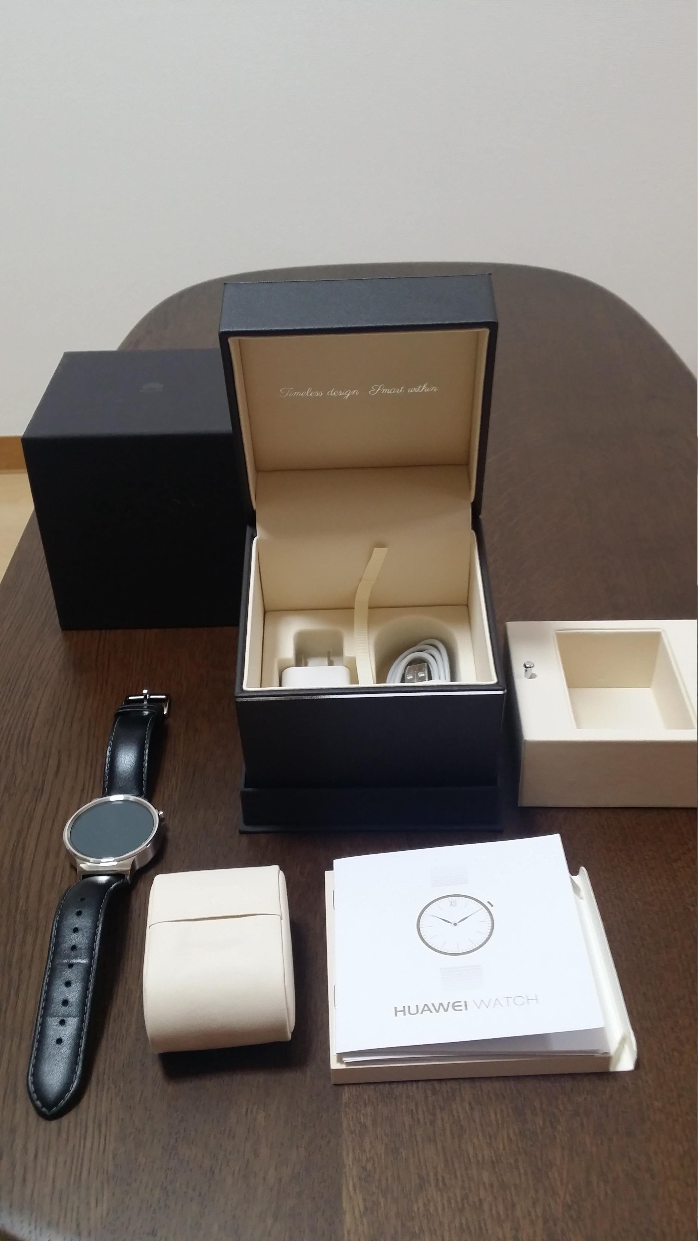 Huawei Watch(ファーウェイ ウォッチ) を買ってみた。