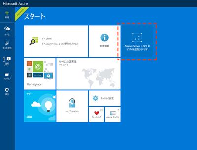 無料評価版 Asianux Server on Microsoft Azureの操作手順27