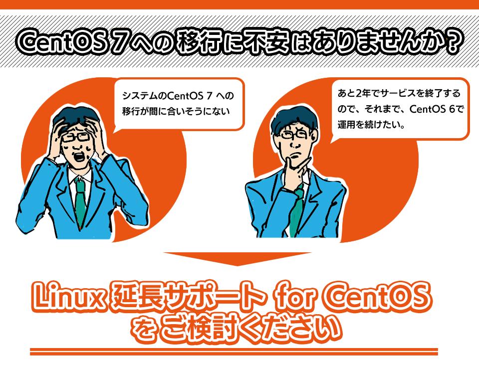 CenOS 6延長サポート