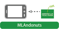 MLAndonuts(Androidタブレット用のソフトウェア)