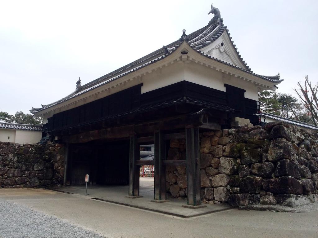 高知城の大手門