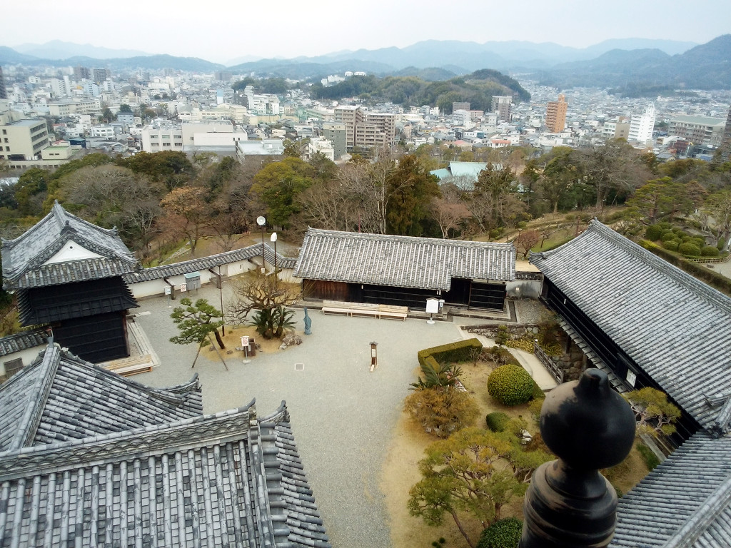 高知城の本丸